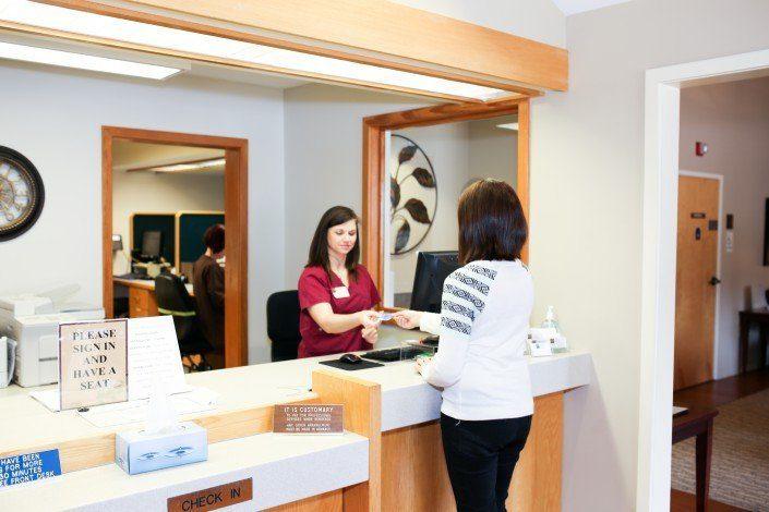 Asheville OB/Gyn office - interior